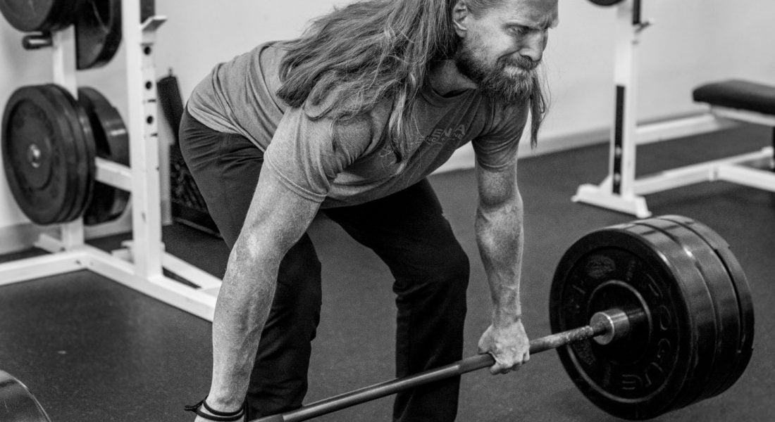 Kevin Wallingford Dead Lift b&w