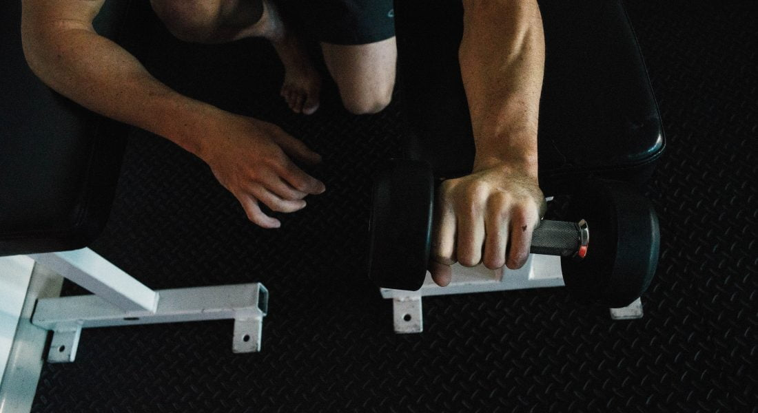 Forearm Dumbbell, Photo by Mei Ratz
