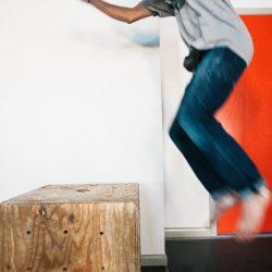 Alex Bridgewater Box Jump, Photo by Mei Ratz
