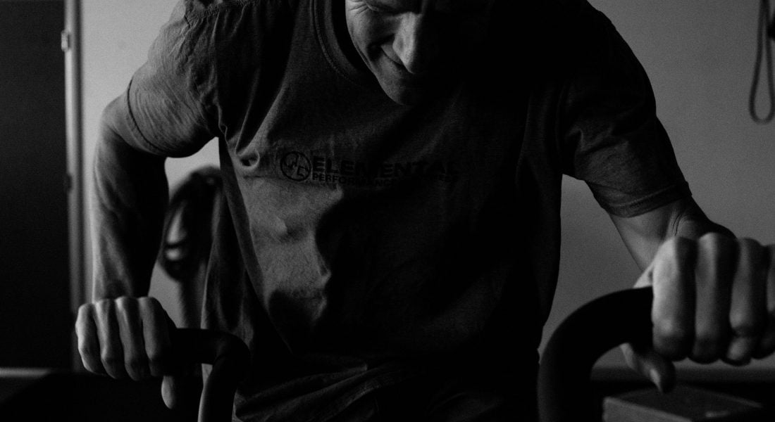 Steve Bechtel Airdyne b&w, photo by Mei Ratz