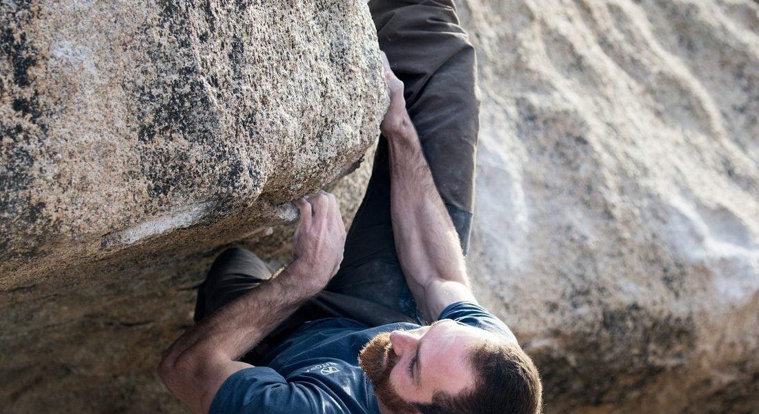 Brad Hilbert Bouldering, image courtesy of Butora USA