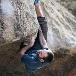 Brad Hilbert Bouldering, image courtesy of Butora USA